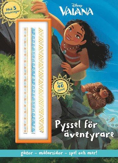 bokomslag Disney Vaiana: pyssel för äventyrare