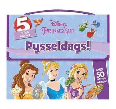 bokomslag Disney Prinsessor : pysseldags 5 roliga böcker