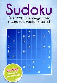 bokomslag Sudoku : över 650 utmaningar i stegrande svårighetsgrad