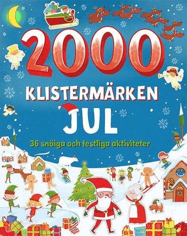 bokomslag 2000 klistermärken: jul