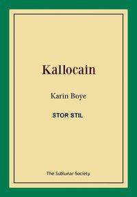 bokomslag Kallocain (stor stil)