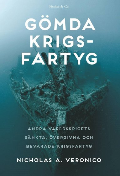 bokomslag Gömda krigsfartyg : sökandet efter andra världskrigets övergivna, sänkta och bevarade krigsfartyg