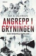 bokomslag Angrepp i gryningen : Slaget om Narvik, 9-10 april 1940