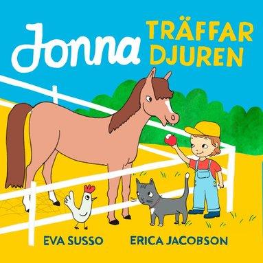 bokomslag Jonna träffar djuren