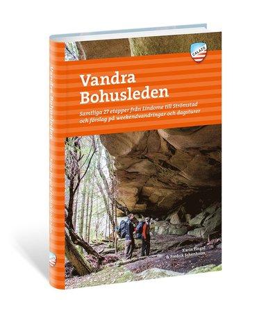 bokomslag Vandra Bohusleden : samtliga 27 etapper från Lindome till Strömstad och förslag på weekendvandringar och dagsturer