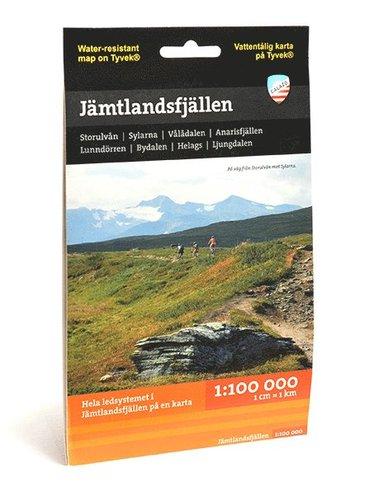 bokomslag Jämtlandsfjällen 1:100.000