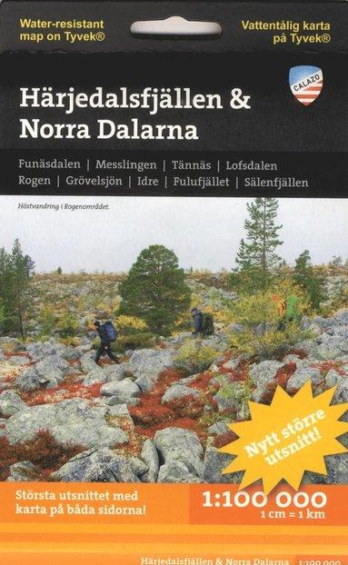 bokomslag Härjedalsfjällen & Norra Dalarna