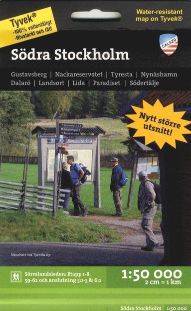 bokomslag Södra Stockholm 1:50.000, 2u