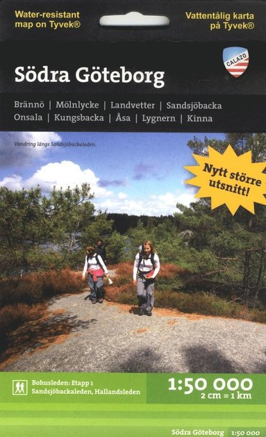 bokomslag Södra Göteborg 1:50.000 2u