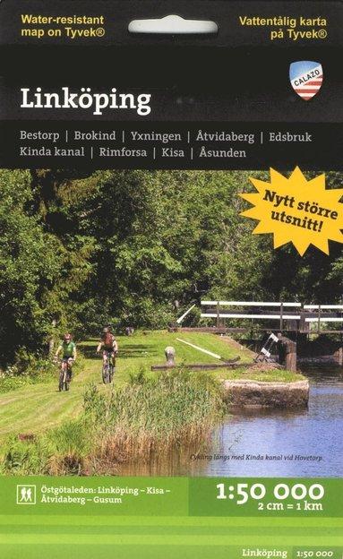 bokomslag Linköping 1:50.000 tyvek