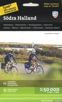 bokomslag Södra Halland 1:50.000