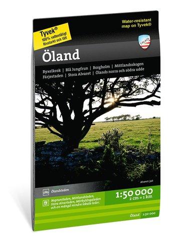 bokomslag Öland 1:50.000
