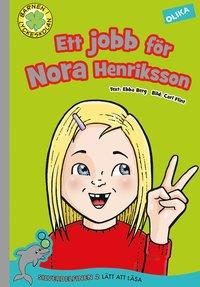 bokomslag Ett jobb för Nora Henriksson
