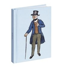 Anteckningsbok 10x14cm linjerad Farbror Blå