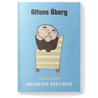 bokomslag Alfons Åberg Lär dig skriva alfabetets bokstäver