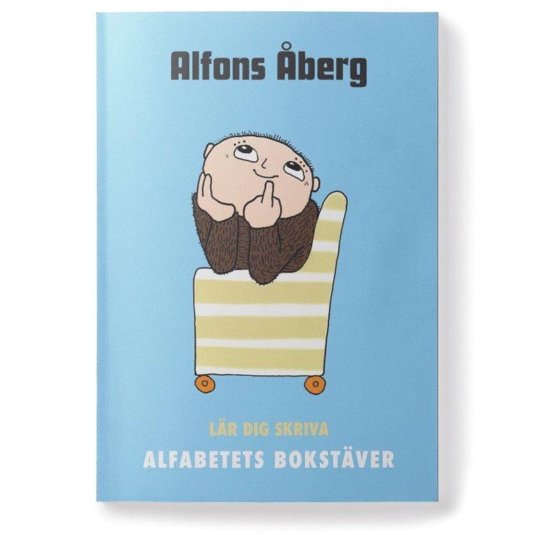 Alfons Åberg Lär dig skriva alfabetets bokstäver 1