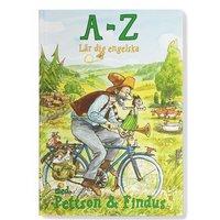 bokomslag A - Z Lär dig Engelska med Pettson & Findus