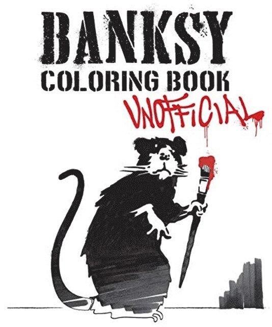Banksy coloring book : unofficial 1