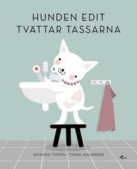 bokomslag Hunden Edit tvättar tassarna