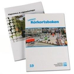 bokomslag Lättlästa Körkortsboken