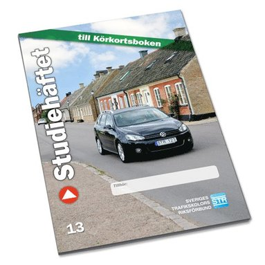 bokomslag Studiehäftet : körkortsboken