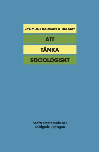 bokomslag Att tänka sociologiskt