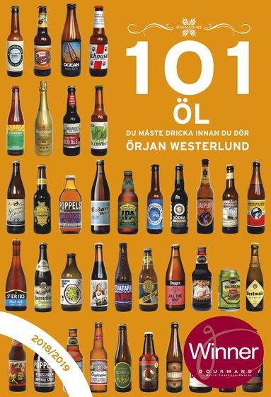 bokomslag 101 öl du måste dricka innan du dör 2018/2019