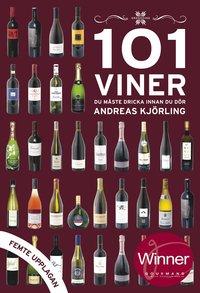 bokomslag 101 viner du måste dricka innan du dör 2018/2019