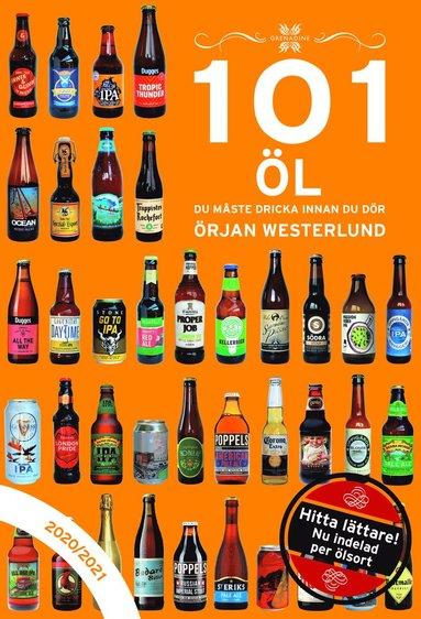 bokomslag 101 : öl du måste dricka innan du dör 2020/2021
