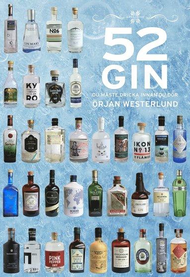 bokomslag 52 gin du måste dricka innan du dör