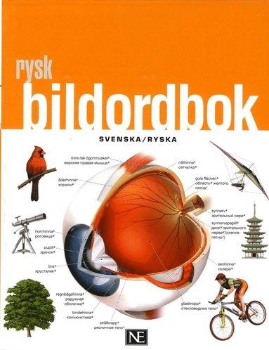 bokomslag Rysk bildordbok svenska/ryska
