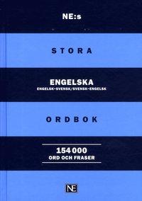 bokomslag NE:s stora engelska ordbok : engelsk-svensk/svensk-engelsk 154000 ord och f