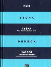 bokomslag NE:s stora tyska ordbok 148.000 ord och fraser