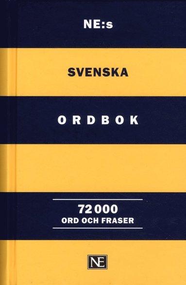 bokomslag NE:s svenska ordbok 72 000 ord och fraser