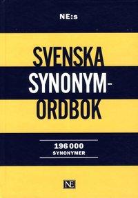 bokomslag NE:s svenska synonymordbok