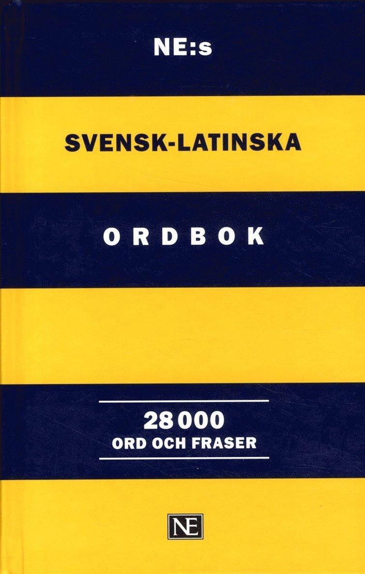 NE:s svensk-latinska ordbok : 28 000 ord och fraser 1