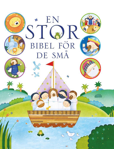 bokomslag En stor bibel för de små