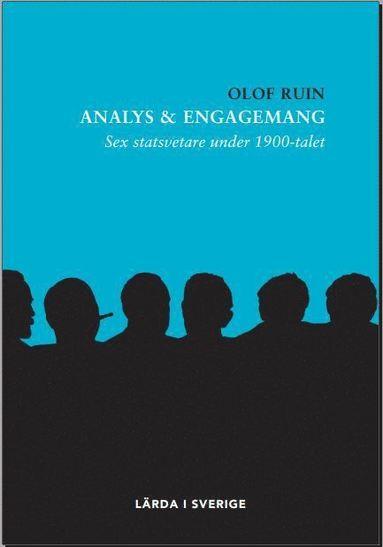 bokomslag Analys & engagemang : sex statsvetare under 1900-talet