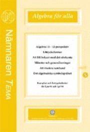 bokomslag Algebra för alla