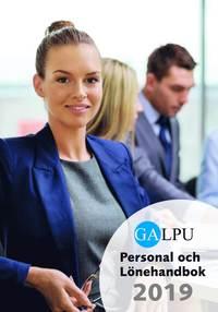 bokomslag GALPU Personal och Lönehanbok 2019