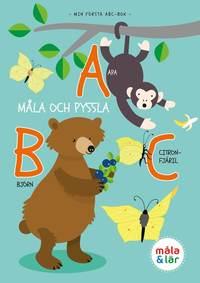 bokomslag Måla och pyssla djurens ABC