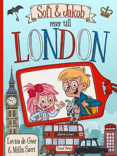 bokomslag Sofi och Jakob reser till London