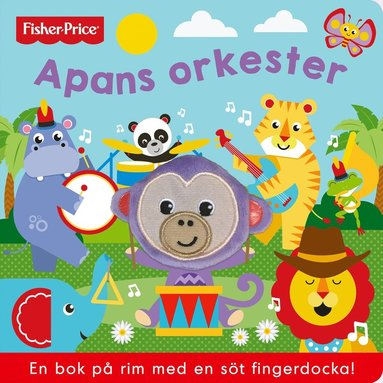 bokomslag Apans orkester (med fingerdocka)