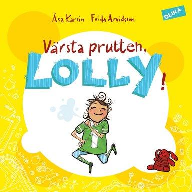 bokomslag Värsta prutten, Lolly!