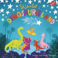bokomslag Stjärnfall i dinosaurieland