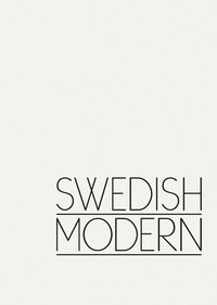 bokomslag Swedish Modern