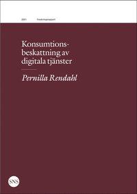 bokomslag Konsumtionsbeskattning av digitala tjänster