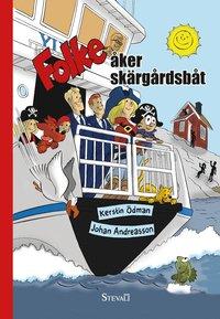bokomslag Folke åker skärgårdsbåt