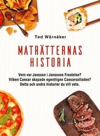 bokomslag Maträtternas historia