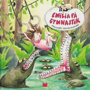 bokomslag Emilia på gymnastik